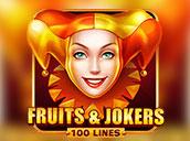 Fruits&Jokers 100 Lines